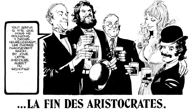 les Aristocrates, in Pif #330